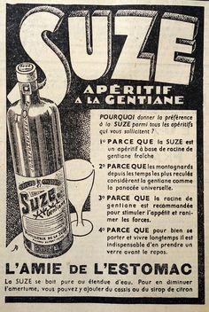 SUZE ADVERTISING - Journal Le Petit Parisien - 1936 / / www.photogriffon.com