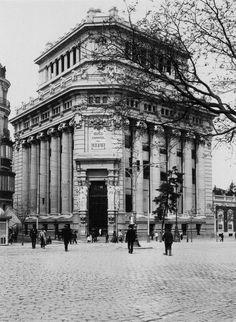 Banco del Río de la Plata luego Banco Central hoy instituto Cervantes. Obra de Antonio Palacios.