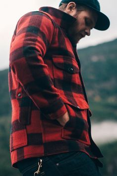 benchandcompass:  pockets in all the right places.  Filson Mackinaw Jacket from Up Knorth @graeme_o