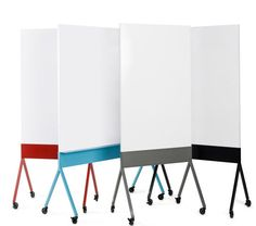 Scribe Mobile Markerboard: Brainstorm the next big idea  #marker #board #office #furniture http://www.aof.com/products/chat-board-mobile