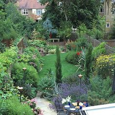 Turn a long, thin garden into the perfect outdoor space with our top design tips