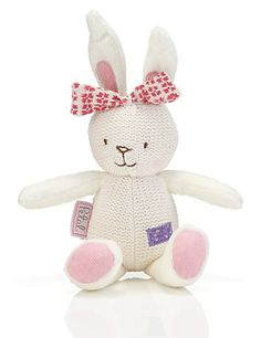 Buy the Emily Button™ Knitted Petal Soft Toy from Marks and Spencer's range. Baby Up, All Things Cute, Red Panda, Bird Cage, Squirrel, Ladybug, Hello Kitty, Dinosaur Stuffed Animal, Elephant