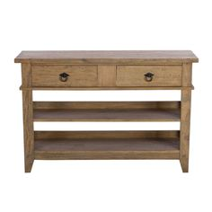 Hancock Console Table, Salvage Deep Grey | Sideboards | Dining Room