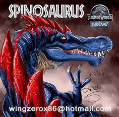 Resultado de imagem para all dinosaurs in jurassic world lvl 40