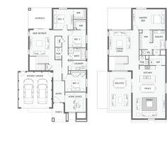 Reverse Living House Designs Australia Www Urbanedgehomes Au Home Double Y Severn Floor Plan