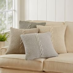 Shop Birch Lane for Decorative Pillows traditional furniture & classic designs- PUTTY