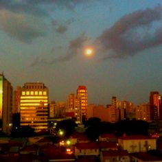 Moonlight in São Paulo, by Bruno Asp