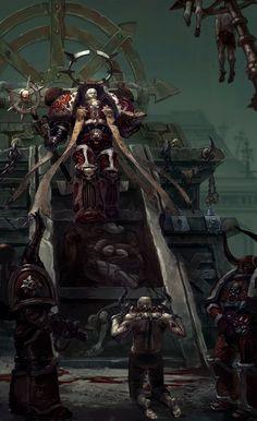 PAINTED 40K: Dark Apostle, Painted by Irina Kuzmina