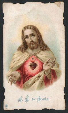Jesus Pictures, Cool Pictures, Jesus E Maria, Jesus Christ Images, Christmas Jesus, Heart Of Jesus, Catholic Prayers, Prayer Cards, Jesus Cristo