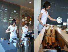 ITAIS ice cream shop by MAS Studio, Brescia – Italy