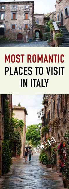 There's a reason why Italy is considered one of Europe's most romantic countries. Below are five of the towns that make Italy one of the world's top destinations for lovers. Whether on your honeymoon, getting married, or just taking the next step in your relationship, don't miss these five quintessentially romantic cities – both hidden gems and well-known destinations.