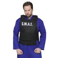 Adult Swat Vest Costume Shirt One Size Fits Most Color: Blue. Adult Swat Vest Costume Shirt One Size Fits Most Men's Blue Superhero Halloween Costumes, Pumpkin Halloween Costume, Adult Costumes, Cop Costume, Costume Shirts, Costume Shop, Swat Vest, Convict Costume, Career Costumes