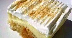 ΑΠΟ ΤΟ ΠΟΙΟ ΩΡΑΙΟ ΠΑΛΙΟ ΓΛΥΚΟ ΜΕ ΦΡΥΓΑΝΙΕΣ,ΚΡΕΜΑ,ΣΑΝΤΙΓΊ!!!!!!! ΣΥΝΤΑΓΗ ΥΛΙΚΑ: 24 φρυγανιές ΣΙΡΟΠΙ: Βράζουμε 2 νεροπότηρο νερό με 2... Vanilla Cake, Sweets, Cooking, Desserts, Food, Kitchen, Tailgate Desserts, Deserts, Gummi Candy
