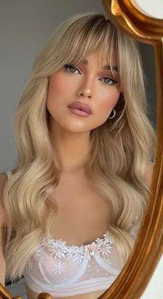 Hair Inspo, Hair Inspiration, Blonde Hair Looks, Aesthetic Hair, Hair Dos, Hair Type, Hair Trends, New Hair, Short Hair Styles