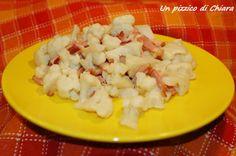 Cavolo e pancetta - ricetta