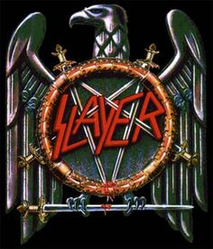 Slayer uses an eagle as their background for their unique logo