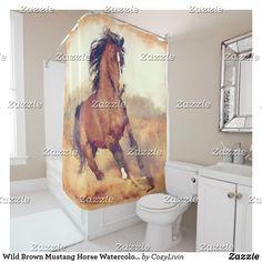 Wild Brown Mustang H