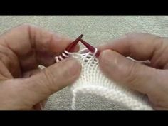 Knitting Backwards, or Reverse Continental
