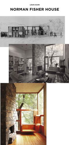 Louis Kahn's Norman Fisher house