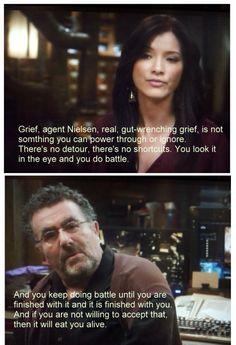 So, so true. Warehouse 13, season 4.