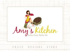 Restaurant Logo Design Homemade Food By CraveDesignsStore