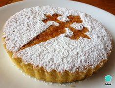 Tarta de Santiago tradicional #Recetas #Cocina #RecetasPasoAPaso #CocinaCasera #RecetasdeCocina #Panybollería #Bizcochos Food Cakes, Tea Cakes, Baking Recipes, Cake Recipes, Dessert Recipes, Desserts, Almond Cakes, Sweet Tarts, Other Recipes