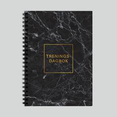 Treningsdagbok – oversikt over treningen Initials, Left, Position, Positivity, Design, Optimism