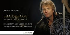 Bon Jovi.  Sigh.  What else is there to say!!!