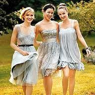 Bridesmaid attire? I think yes.