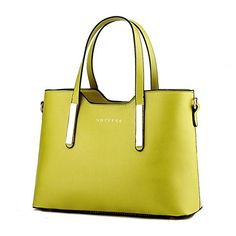 New Trending Shoulder Bags: Womens PU Leather Shoulder Bags Top-Handle Handbag Tote Bag Simple Purse Fashion Cross Body Bag,Green SILI. Women's PU Leather Shoulder Bags Top-Handle Handbag Tote Bag Simple Purse Fashion Cross Body Bag,Green SILI  Special Offer: $22.49  300 Reviews Item Type: Handbags Outer Material: PU Inner Material: Polyester Closure: Zipper Pattern: Solid Size: Approx.33*13.5*23cm (L*W*H) Size...