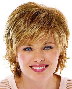 Korte kapsels voor Ronde gezichten - Korte Kapsels