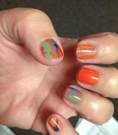 Paint the town mix & match nail art wrap design by Jamberry