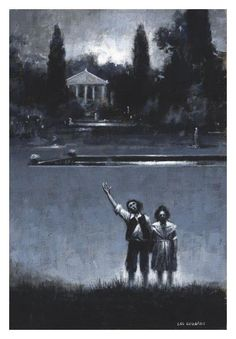 M R James - LOST HEARTS illustration by Les Edwards