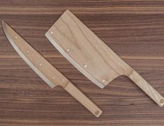 The key component that makes the Maple Knife Set different from your existing kitchen knives set is its design.