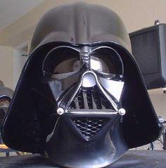 fan made Darth Vader ESB Helmets