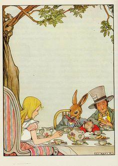 Rie Cramer Alice in Wonderland. 1934