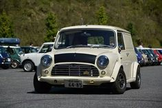 Mini Cooper Classic, Vans Classic, Garage, Delivery, Cars, Life, Autos, Carport Garage, Garages