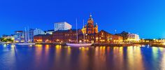 Helsinki, Finland on Independence Day December 6th