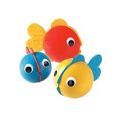 bubble fish ambi toys / ze vullen zich met water en blazen bellen / vanaf 6 maanden