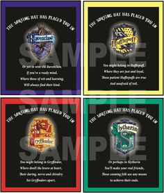 Harry Potter Party Badges  House Crest  by funtasticprintables, $3.50