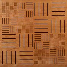 EccoTone Wooden Soundproofing Panels Parquet