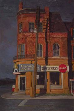The former Canary Restaurant inspired the name for the new Canary District being launched in the West Don Lands. Art Toronto, Toronto Ontario Canada, Funky Art, Art Archive, Watercolor Artwork, Art Pictures, Painting Inspiration, Home Art, Fantasy Art