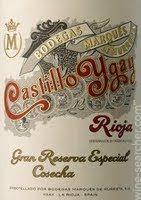 Castillo Ygay Rioja Gran Reserva Especial, Rioja, Spain (2004,2005)