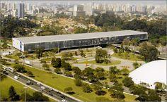 Pavilhão da Bienal (São Paulo - Pq do Ibirapuera), Oscar Niemeyer