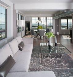 Interior Design by Jeanine Turner of Turner Development Group (Surya rug: ESS-7629).