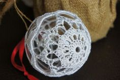 Crochet Christmas Decoration - www.facebook.com/IvkinKutak