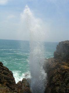 Kudawella blowhole (aka Hummanaya), 6km east of Dickwella, Southern Sri Lanka