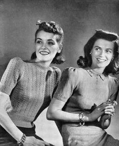 1941 sweater tops