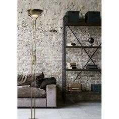 Bestel de Klassieke vloerlamp Danique - Brons, met leeslamp op Lampgigant.nl ✓ Snel gratis bezorgd ✓ Grootste collectie in NL & BE!