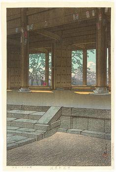 Hasui Kawase 1883-1957 - Chionin Temple